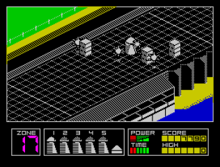 Highway Encounter ZX Spectrum 11