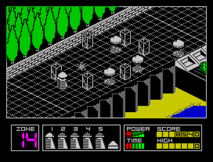 Highway Encounter ZX Spectrum 12