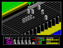 Highway Encounter ZX Spectrum 14