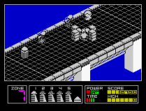 Highway Encounter ZX Spectrum 16
