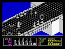 Highway Encounter ZX Spectrum 17