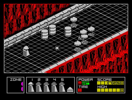 Highway Encounter ZX Spectrum 20