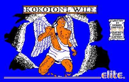 Kokotoni Wilf Amstrad CPC 01