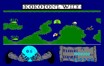 Kokotoni Wilf Amstrad CPC 08