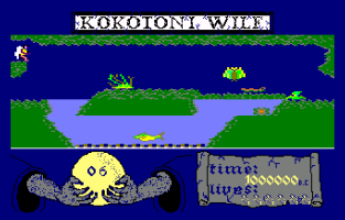 Kokotoni Wilf Amstrad CPC 09