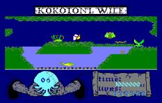 Kokotoni Wilf Amstrad CPC 10