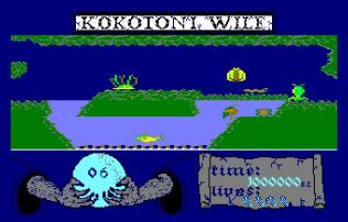 Kokotoni Wilf Amstrad CPC 11