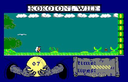 Kokotoni Wilf Amstrad CPC 12