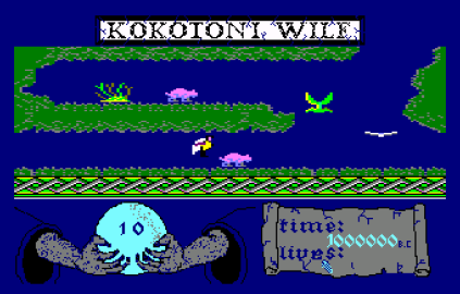 Kokotoni Wilf Amstrad CPC 20