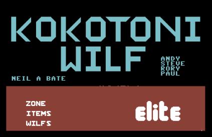 Kokotoni Wilf C64 01