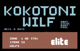 Kokotoni Wilf C64 52