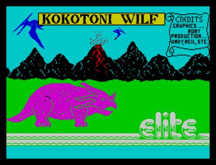 Kokotoni Wilf ZX Spectrum 01