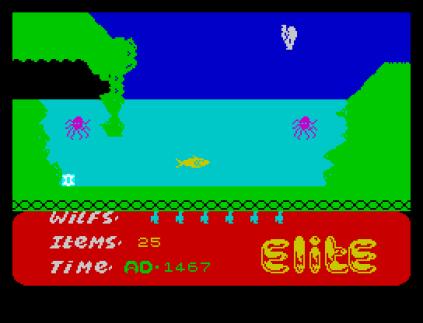 Kokotoni Wilf ZX Spectrum 31