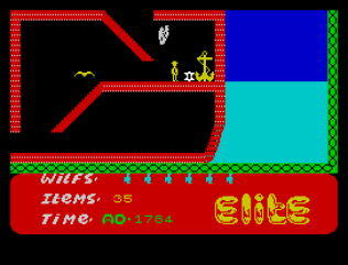 Kokotoni Wilf ZX Spectrum 43