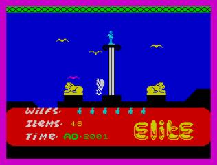 Kokotoni Wilf ZX Spectrum 55