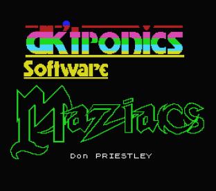 Maziacs MSX 01