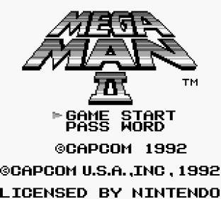 Mega Man 2 Game Boy 01