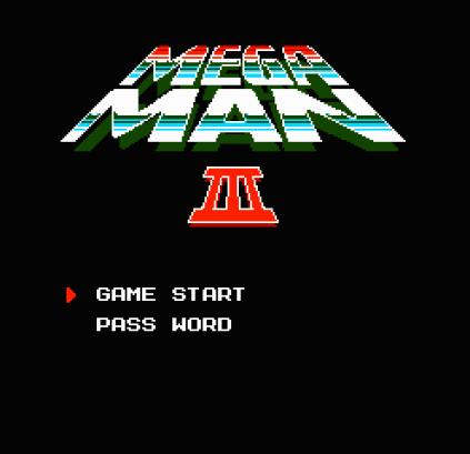 Mega Man 3 NES 01