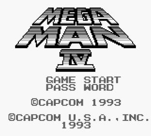 Mega Man 4 Game Boy 001