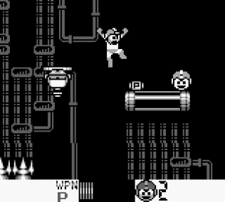 Mega Man 4 Game Boy 098