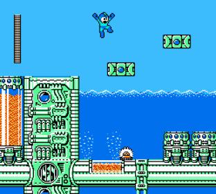 Mega Man 4 NES 020