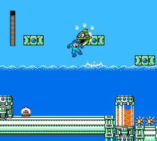 Mega Man 4 NES 021