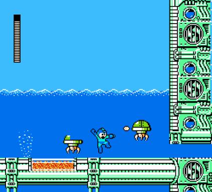 Mega Man 4 NES 023