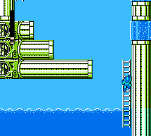 Mega Man 4 NES 031