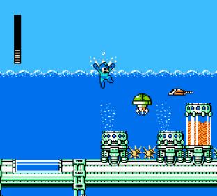 Mega Man 4 NES 034