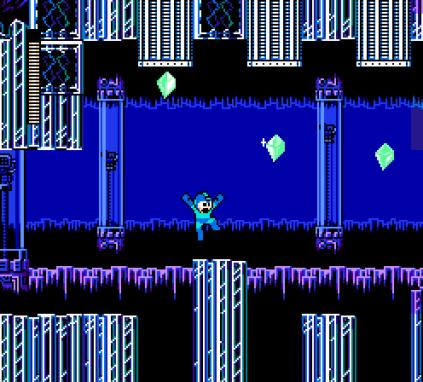 Mega Man 5 NES 045