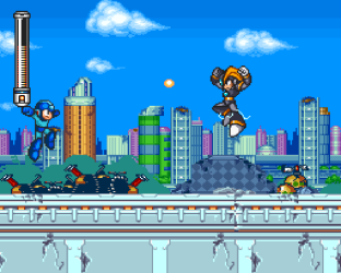 Mega Man 7 SNES 12