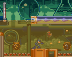 Mega Man 7 SNES 21