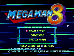 Mega Man 8 PS1 001