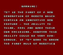 Mega Man X SNES 004