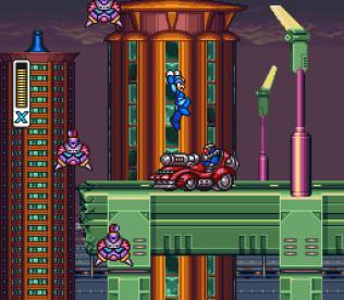 Mega Man X SNES 022