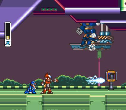 Mega Man X SNES 031