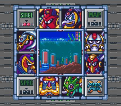 Mega Man X SNES 034