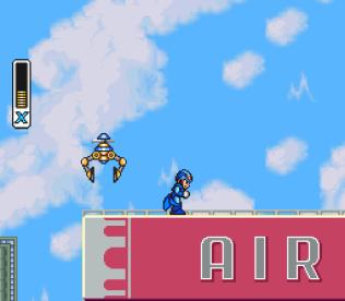 Mega Man X SNES 109