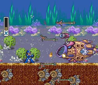 Mega Man X SNES 142