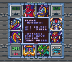Mega Man X SNES 143