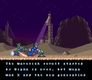 Mega Man X2 SNES 001