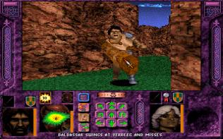 Menzoberranzan PC DOS 32