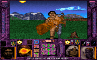 Menzoberranzan PC DOS 49