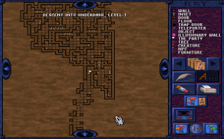 Menzoberranzan PC DOS 80