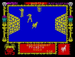 Pyracurse ZX Spectrum 22