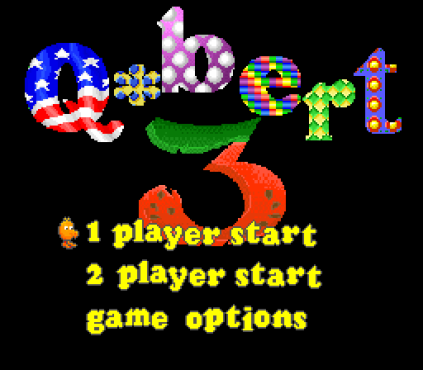 Q-bert 3 SNES 01