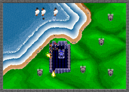 Rampart Arcade 12