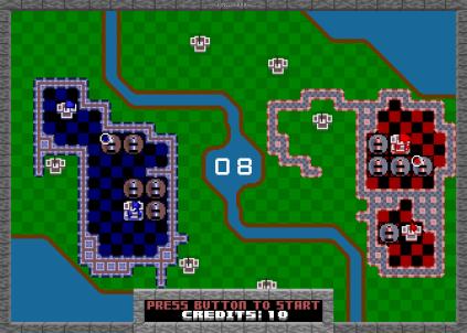 Rampart Arcade 56