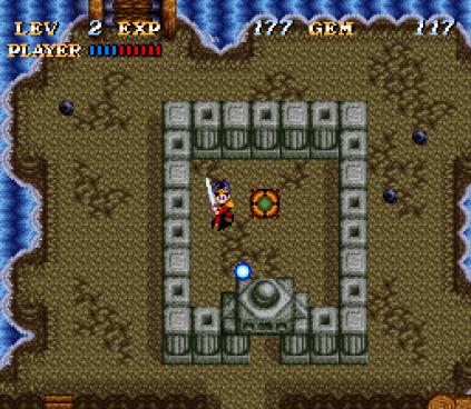 Soul Blazer SNES 64