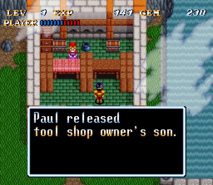 Soul Blazer SNES 86